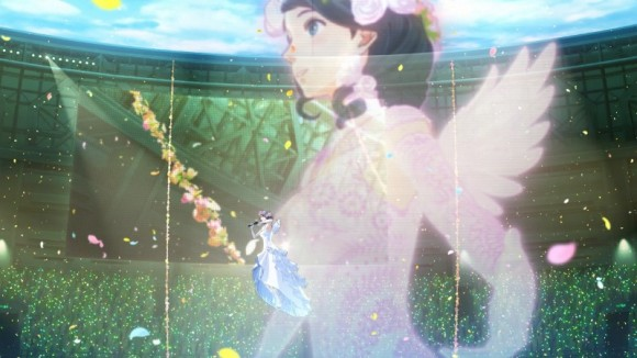 △ヒロインの織部つばさちゃん。ゲーム内のアニメーションはどれも、見ごたえがあります。