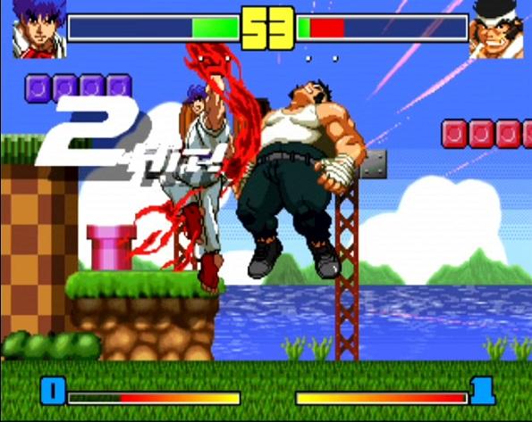 ▲『格ゲー野郎 Fighting Game Creator』がこちら。